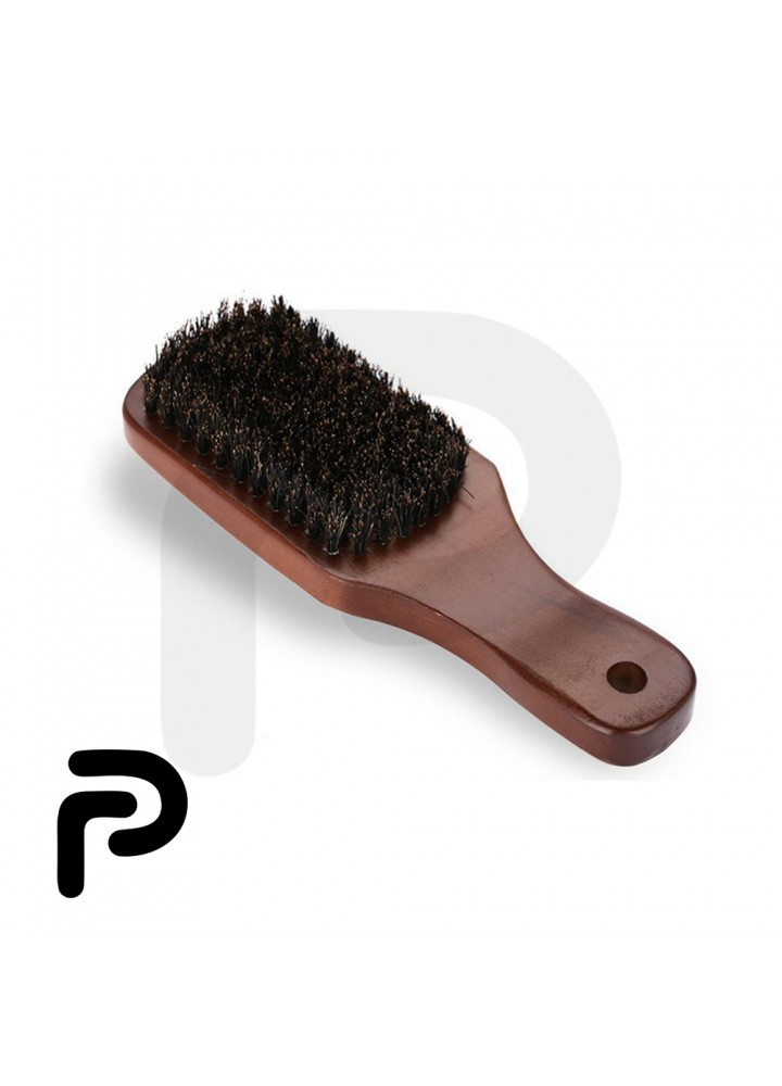 Best Natural Wooden Hair Brush For Men with Chocolate color